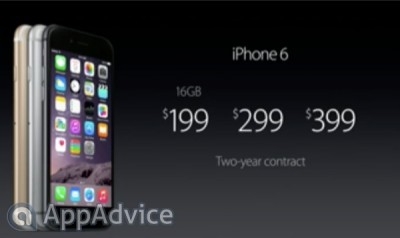 Here's when you can get your iPhone 6 and iPhone 6 Plus