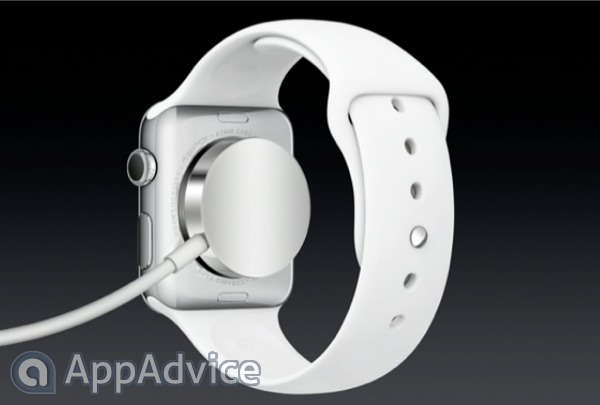 The Apple Watch features a MagSafe-like charging system