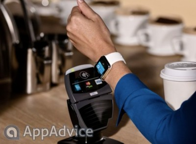 Just like the iPhone 6, the Apple Watch will work with Apple Pay