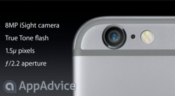 Both the iPhone 6 and iPhone 6 Plus offer an improved camera