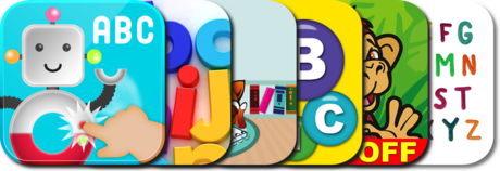 Use these iPhone apps to teach your child the alphabet