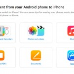 Apple posts a guide detailing how Android users can make the switch to an iPhone