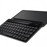 Microsoft's new portable Bluetooth keyboard works with an iPad or iPhone
