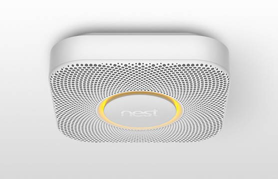 The Nest Protect detector.