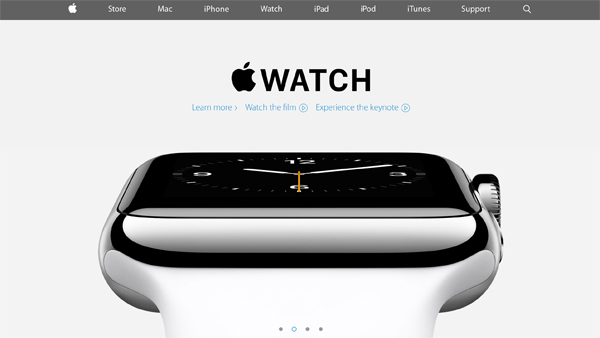 Apple redesigns site, features new Apple Watch and iPhone 6