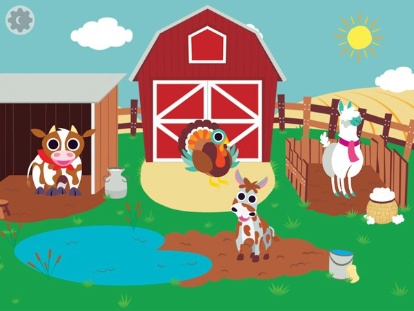 Peekaboo Barn Farm Day offers kids a new way to play with their animal friends