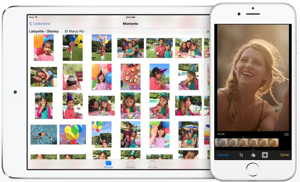 Where are all of your Camera Roll photos in iOS 8?