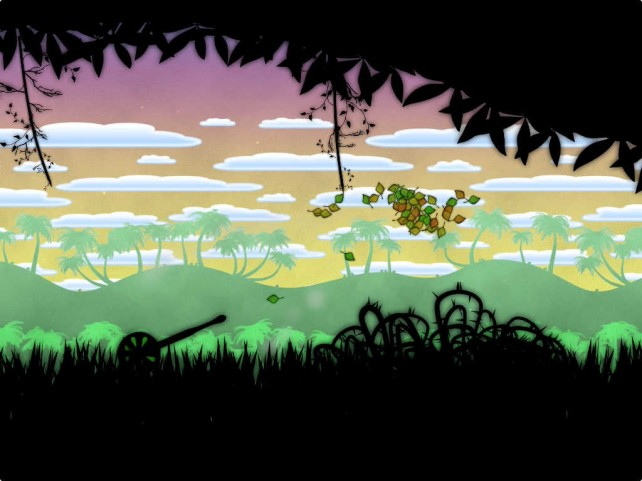 Become a Leaf on the Wind in this beautiful physics-based puzzle game