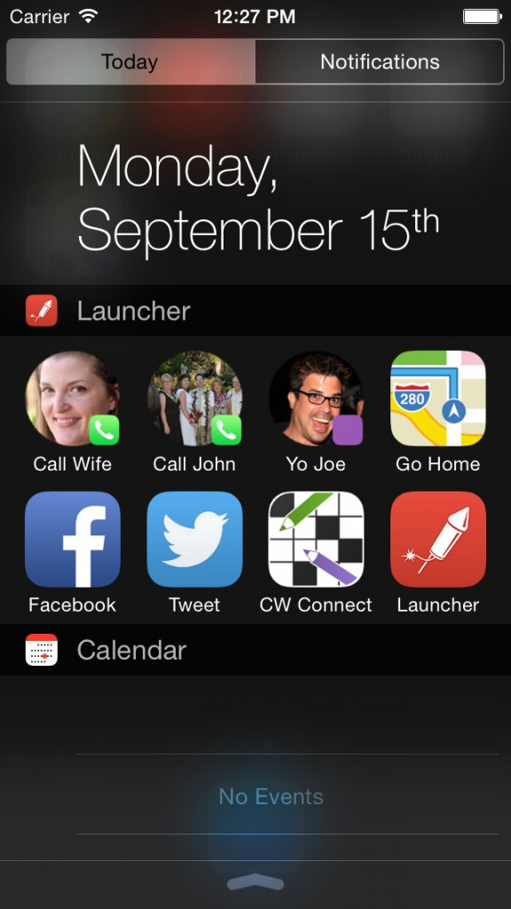 Your favorites are now just a swipe away thanks to Launcher