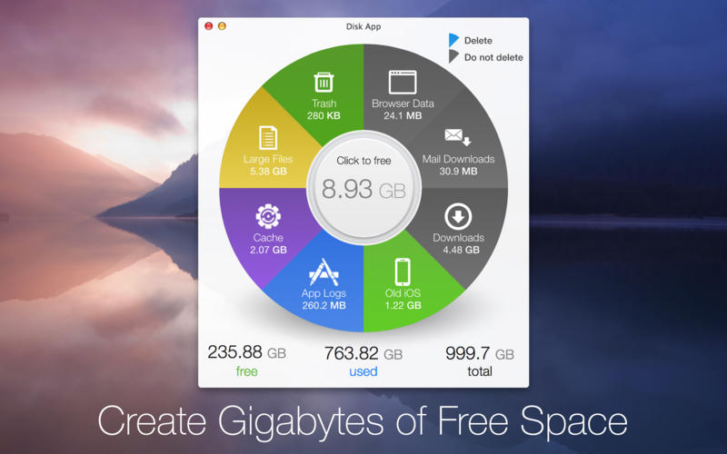 Disk App is a fun and powerful new way to clear up space on your Mac