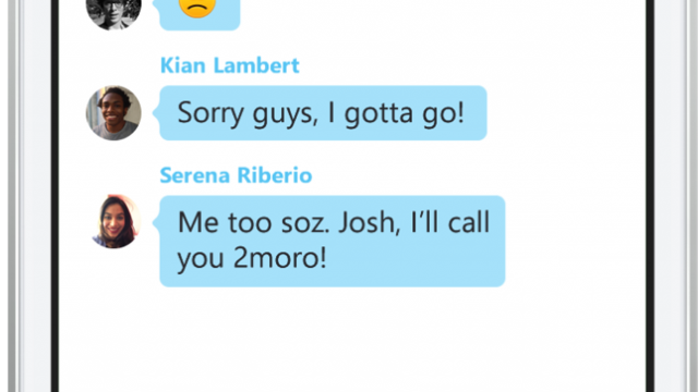 Skype for iPhone now includes group audio calling