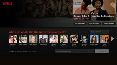 Netflix announces a new social recommendation feature for its iOS app