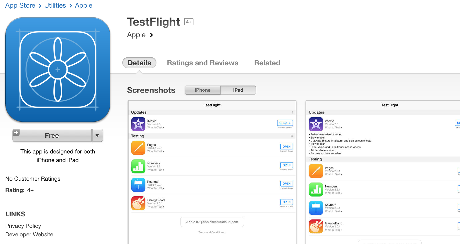 Apple launches TestFlight app just days before 'iPhone 6,' iOS 8 event