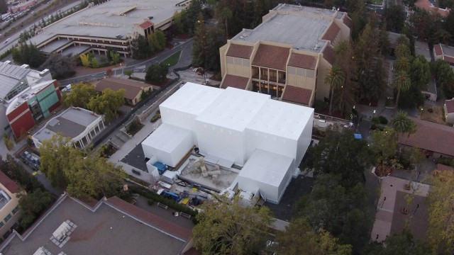 A new aerial shot suggests that Apple is planning something extraordinary next week