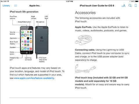 Apple unveils an official free iOS 8 user guide for the iPad