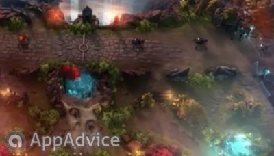 Here's the trailer for Vainglory, which was showcased at Apple's media event