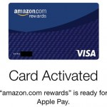 Amazon's Visa Rewards Card members can now use Apple Pay