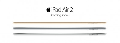 You can now order the iPad Air 2 and iPad mini 3