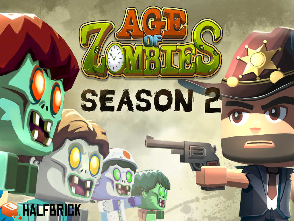 Halfbrick's Age of Zombies: Season 2 features new look and new content
