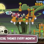 Rovio updates Angry Birds Friends with new Halloween tournament and global league