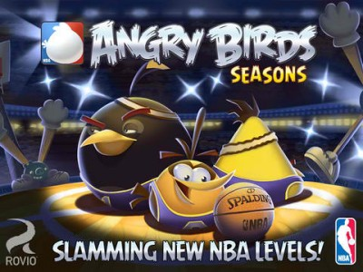 Go pig or go home in the new NBA Ham Dunk episode of Rovio's Angry Birds Seasons