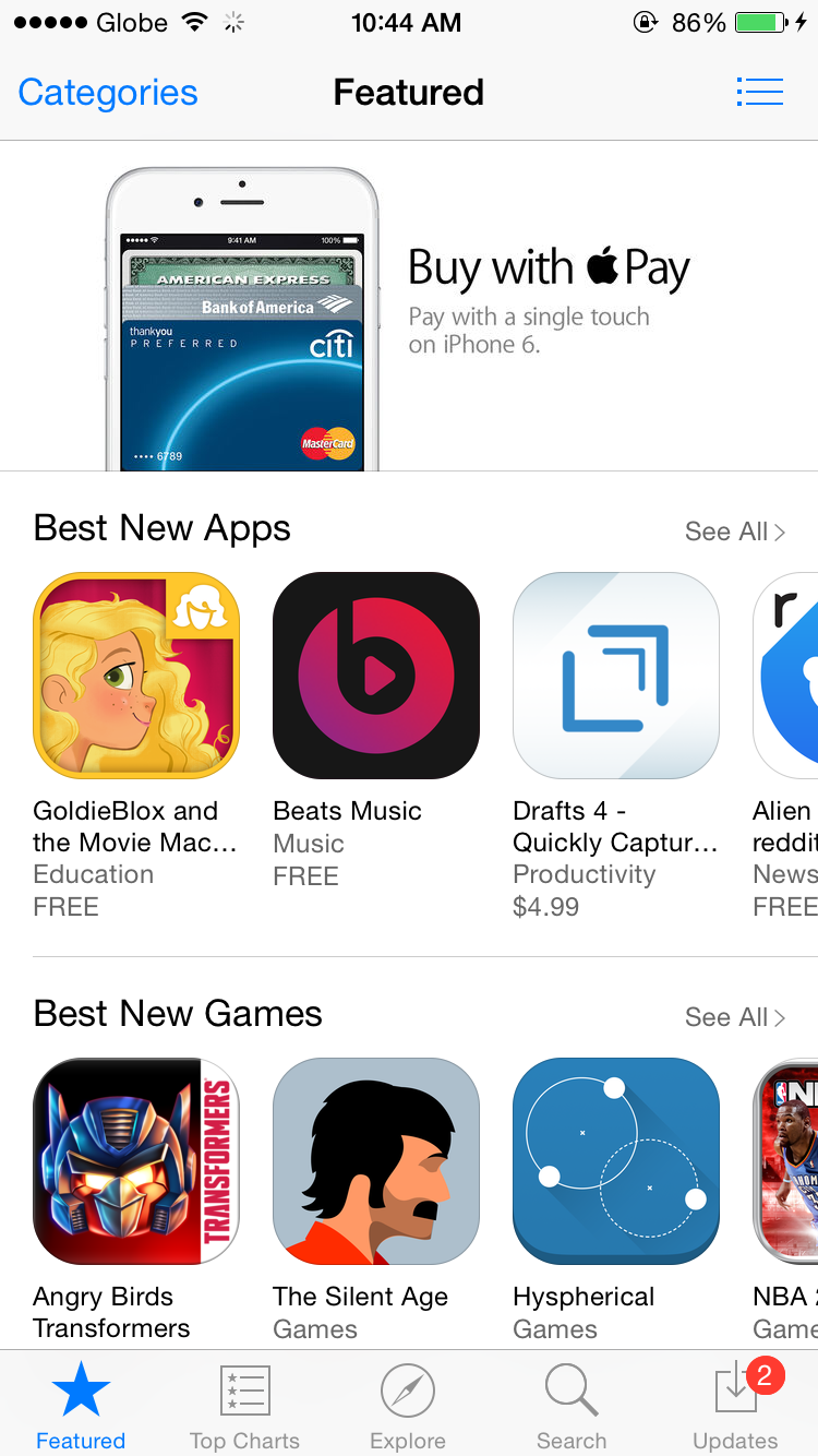 Apple's App Store tops 85 billion downloads with year-on-year revenue up by 36 percent