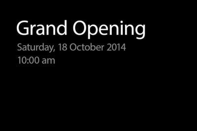 Apple to open new retail store along Princes Street in Edinburgh, Scotland, on Oct. 18