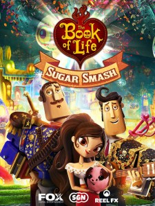 Have a happy match-three puzzle game fiesta with Book of Life: Sugar Smash