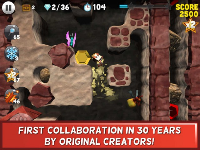 Celebrate the 30th anniversary of Boulder Dash with this brand new puzzle adventure sequel