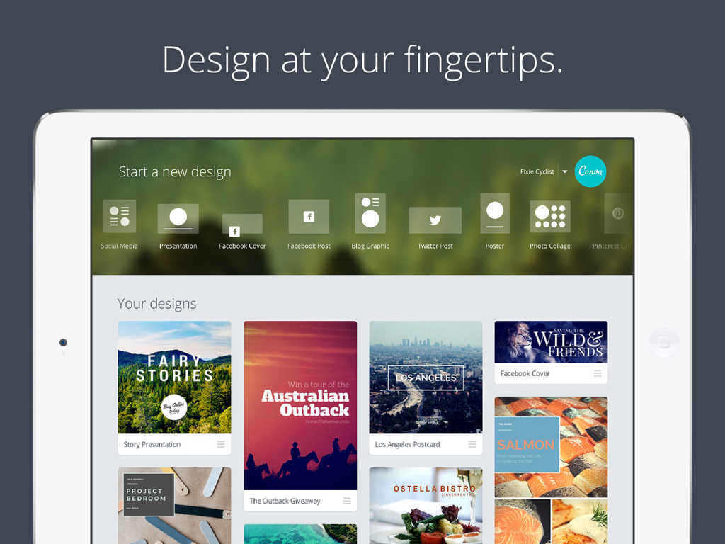 Drag-and-drop graphic design platform Canva releases official app for iPad