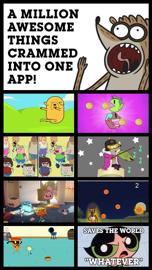 Anything goes in the new Cartoon Network Anything app for iOS