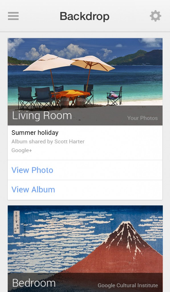 Google updates Chromecast for iOS with new backdrop customization feature