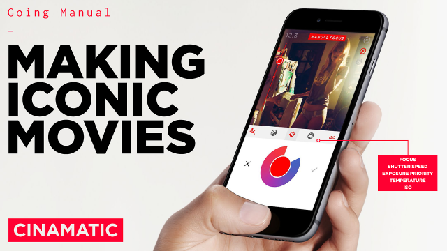 Cinamatic is first video app fully integrated with iOS 8's manual camera controls
