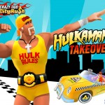 Hulk Hogan takes over Sega's Crazy Taxi City Rush ... just because he can