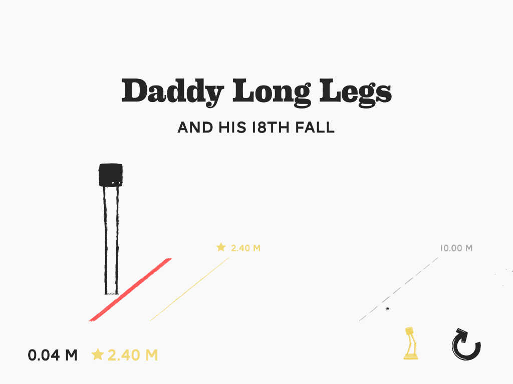 Daddy Long Legs endless walking game stumbles onto iOS