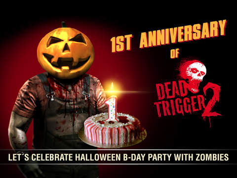Madfinger's Dead Trigger 2 zombie shooter gets Halloween Birthday Party update