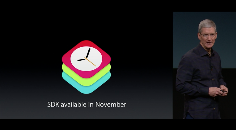 Apple confirms its WatchKit SDK is set to reach developers in November