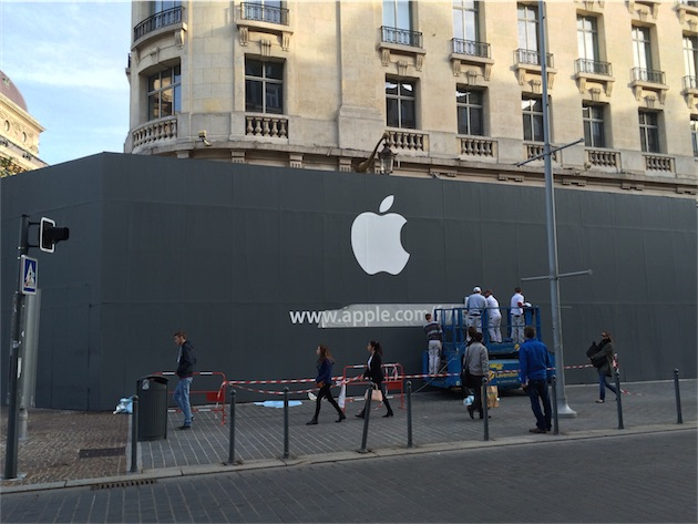 Apple is bringing a new retail store to Lille, France in the near future