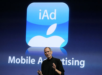 Apple's iAd platform launches in 9 European countries