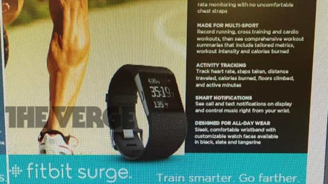Fitbit is gearing up to launch the Surge, its new 'fitness superwatch'