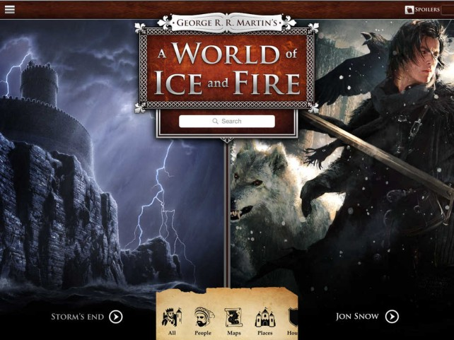 George R. R. Martin's A World of Ice and Fire updated with new content and improvements