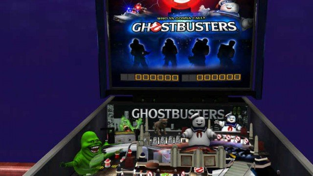 Who ya gonna call if ya wanna play Ghostbusters Pinball?