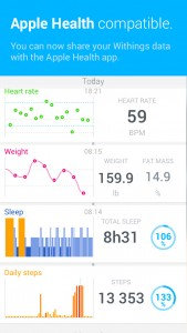Withings updates its Health Mate app with Health and Touch ID integration on iOS 8