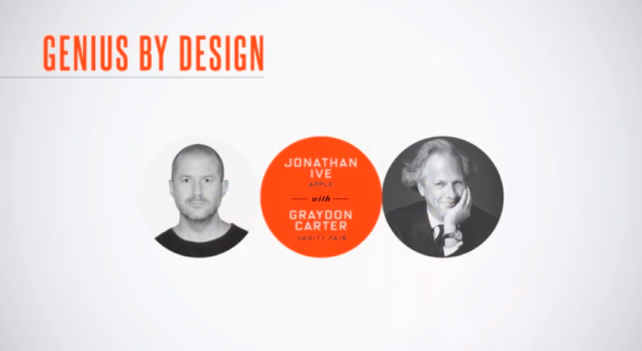 Watch Apple design chief Jony Ive's full interview with Vanity Fair