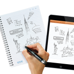 Noteshelf 9.0 features integration with the Livescribe 3 handwriting smart pen