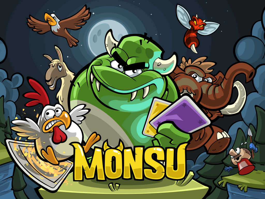 Monsu offers monstrous fun with combination of endless running and card-collecting