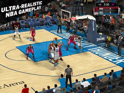 NBA 2K15 out now on iOS, featuring Kevin Durant and soundtrack curated by Pharrell