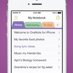 Microsoft updates OneNote for iPhone and iPad with new features and improvements