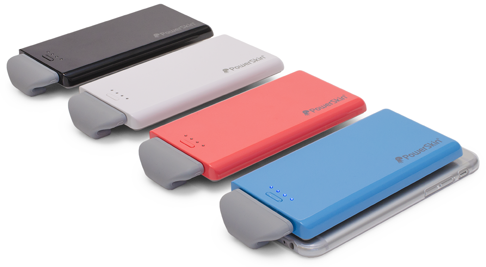 The PowerSkin PoP'n 2 offers a portal power solution for your iPhone 6/6 Plus