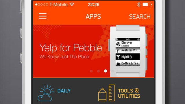 Pebble Smartwatch now lets you automatically update apps and watchfaces